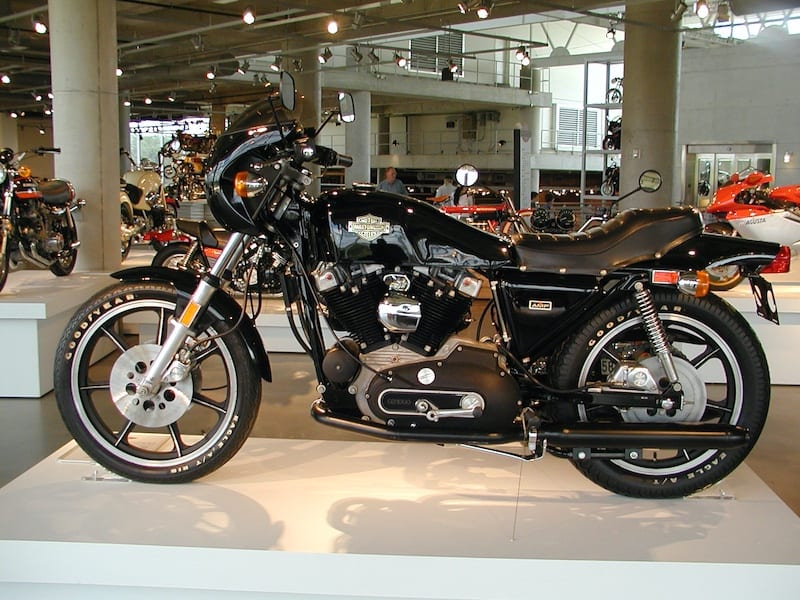 Harley Davison XLCR. Harley's attempt at a cafe racer 70s motorcycle