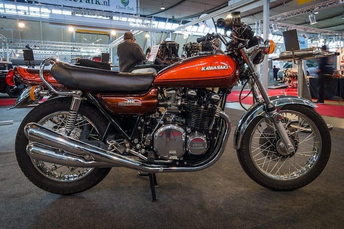 The Kawasaki Z1 was the best motorcycle of the 70s