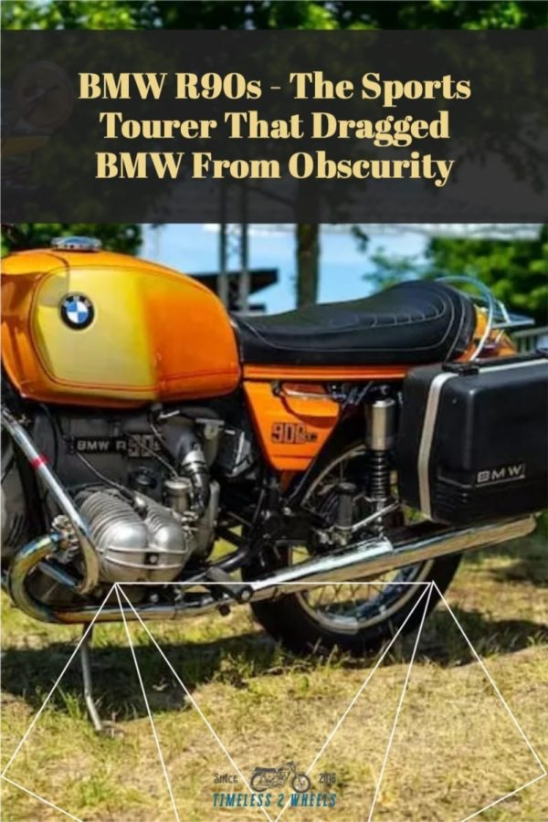 BMW R90s - The Sports Tourer That Rescued BMW