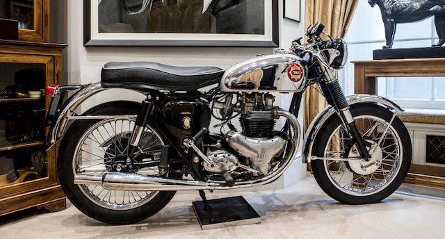 BSA Rocket Gold Star is one of the most coveted 1960s motorcycles