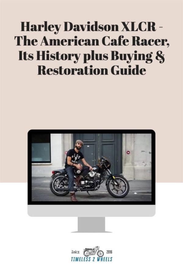 Harley Davidson XLCR - The American Café Racer