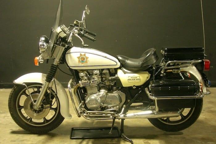 Kawasaki Kz1000 Police motorcycle