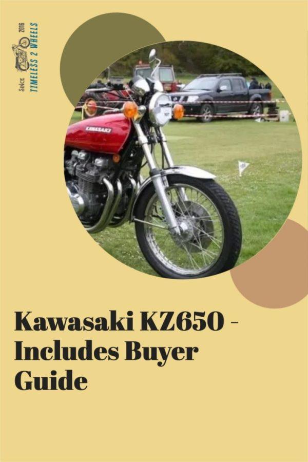 Kawasaki KZ650 - Son of Z1