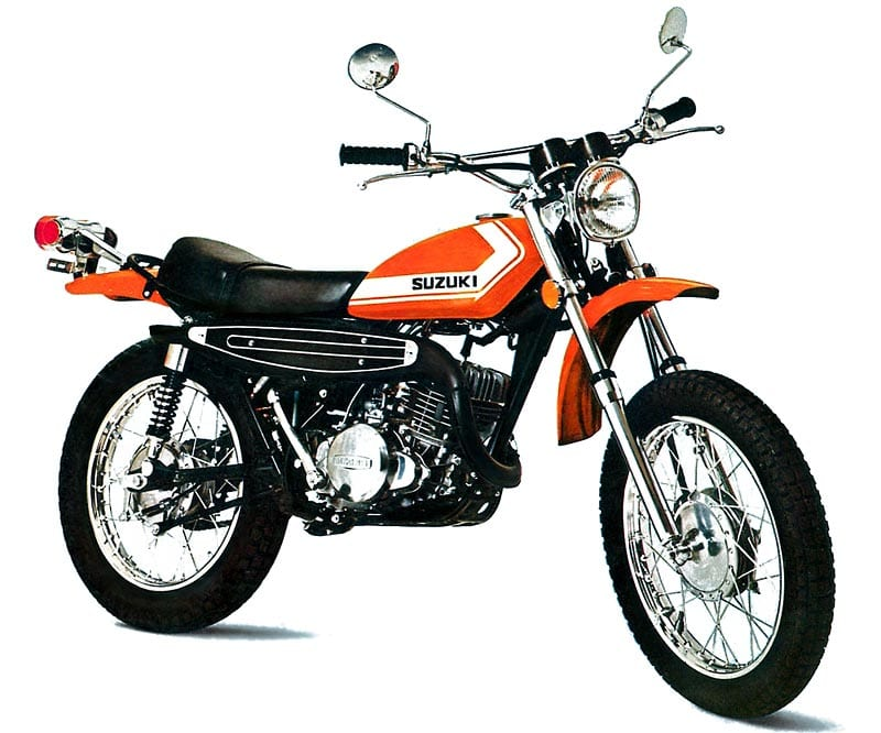 Another 1960s motorcycle introduced into the new duel sport market