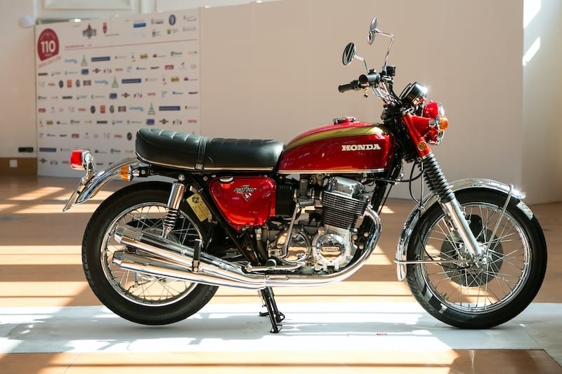 the most influential 70s motorcycle was the Honda CB750