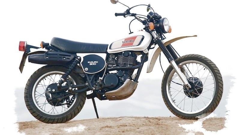 Yamaha XT500 won the first Paris Dakar rally