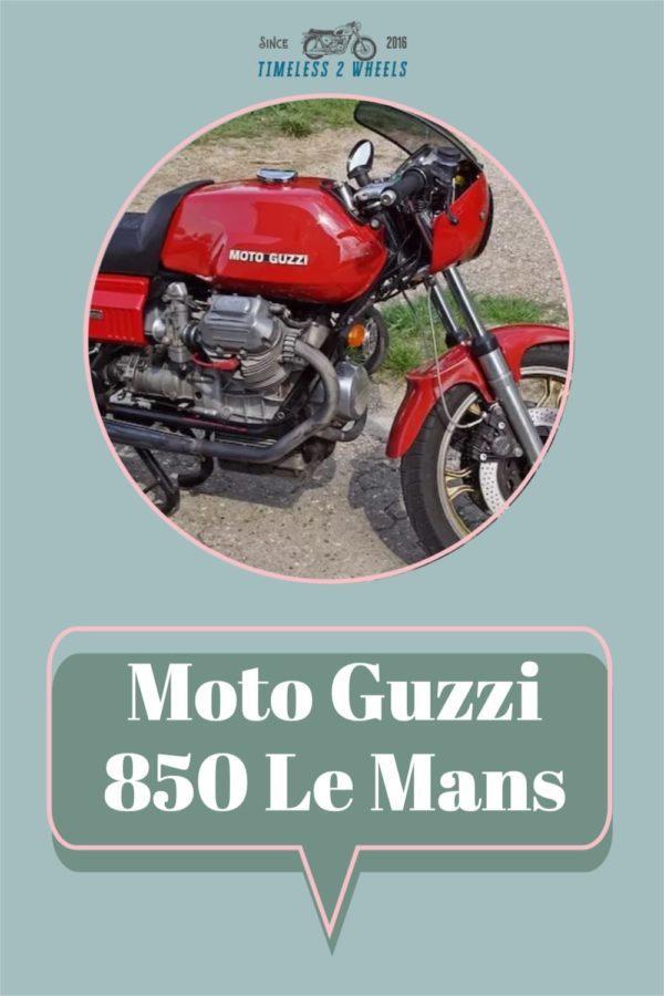 Moto Guzzi 850 Le Mans Review & Buyers Guide