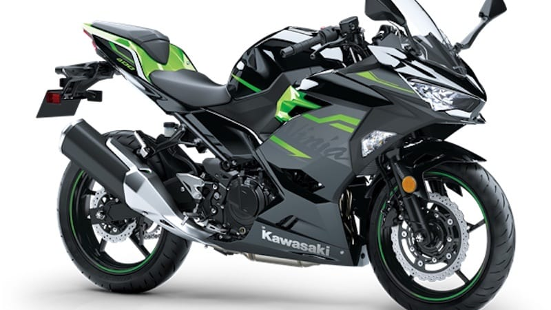 Kawasaki Ninja 400 is a perfect sport bike for female riders