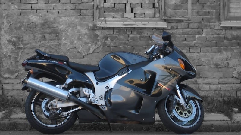 The Hayabusa is probably the most iconic of the 90s Suzuki motorcycles