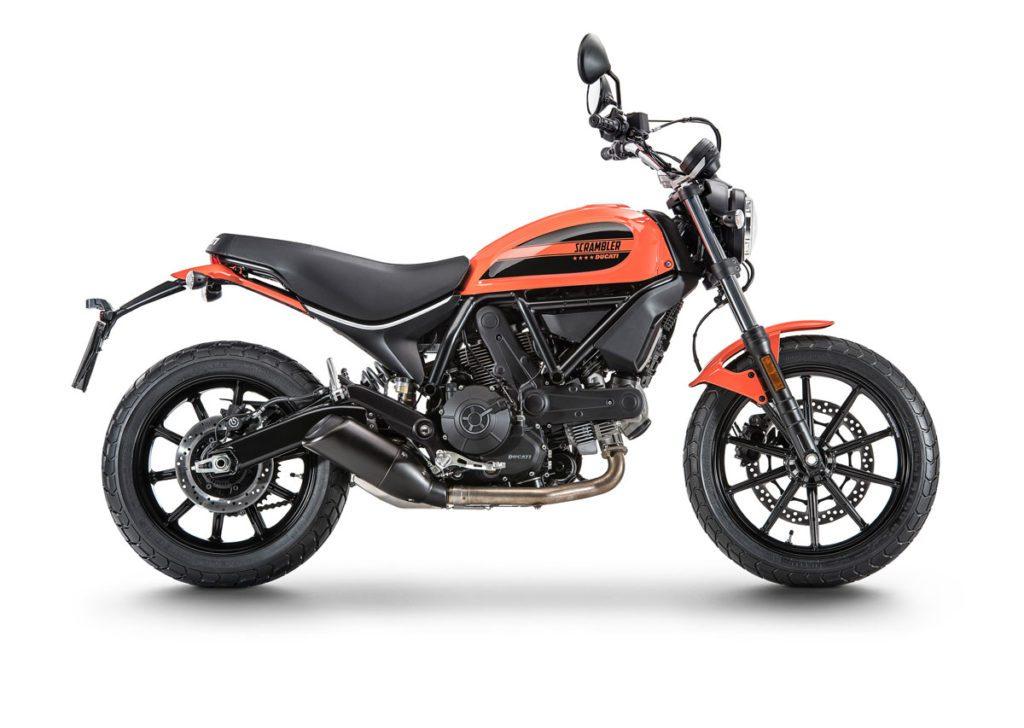 The Ducati Scrambler Sixty2