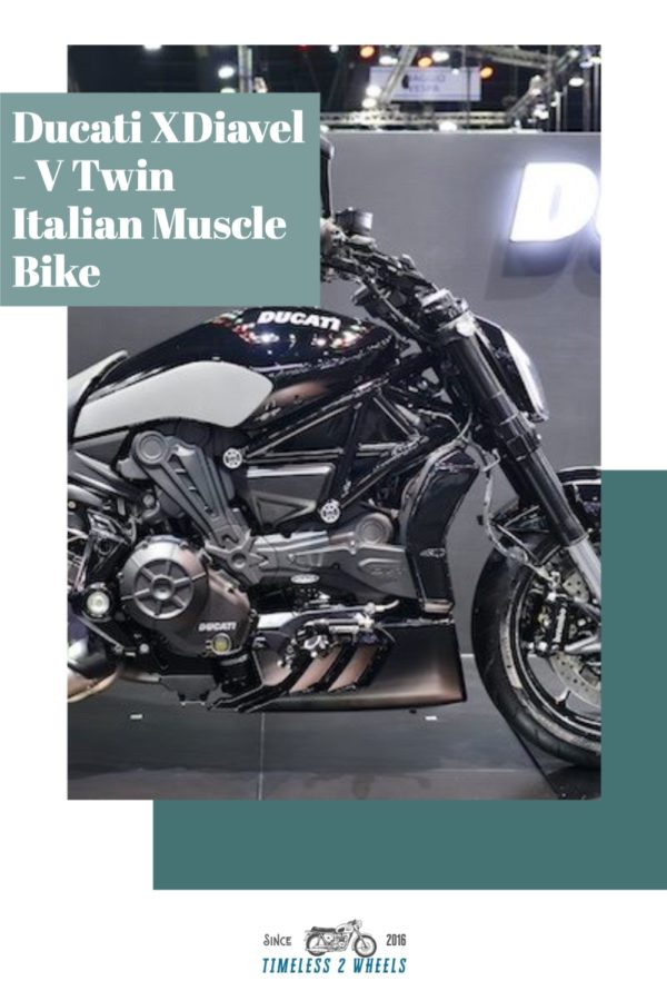 Ducati XDiavel - V Twin Sport-Cruiser
