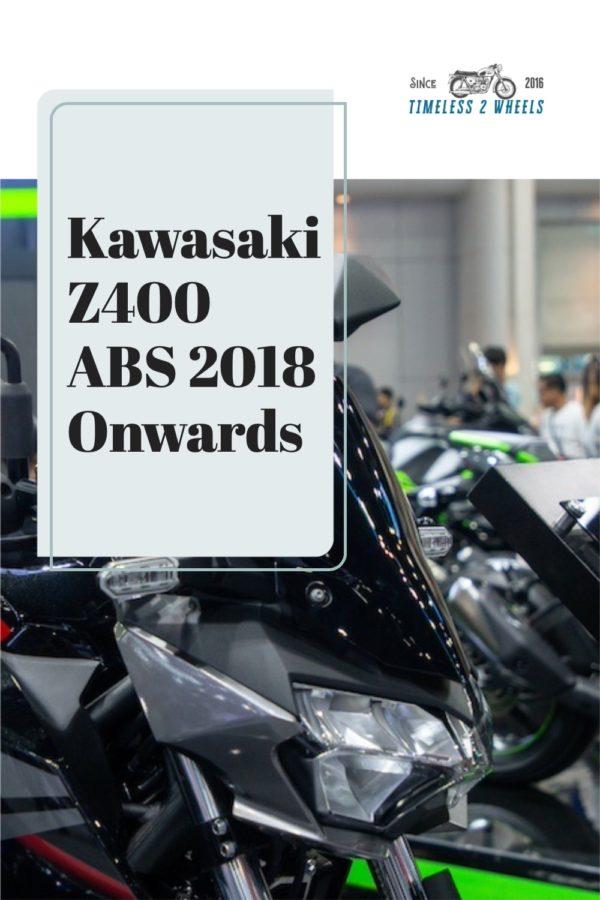 Kawasaki Z400 ABS - 2019 Onwards