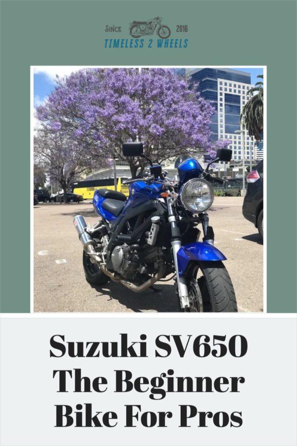 The Suzuki SV650: The Beginner Bike For Pros