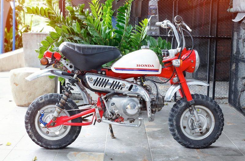 Original 1970s Honda Monkey