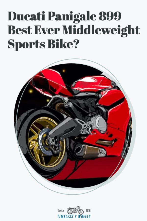 Ducati Panigale 899 - Best Ever Middleweight Sports Bike?
