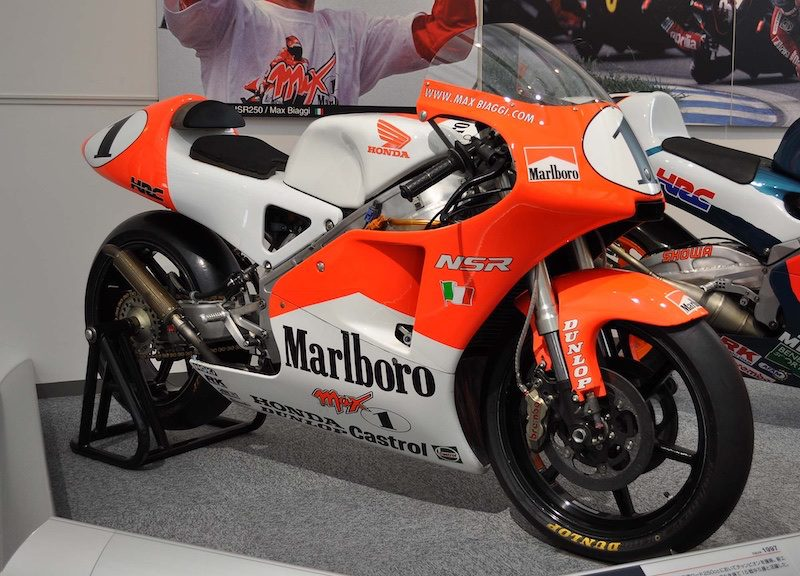 The Honda NSR250 is considered by many to be the finest 2 stroke race replica motorcycle ever to be produced