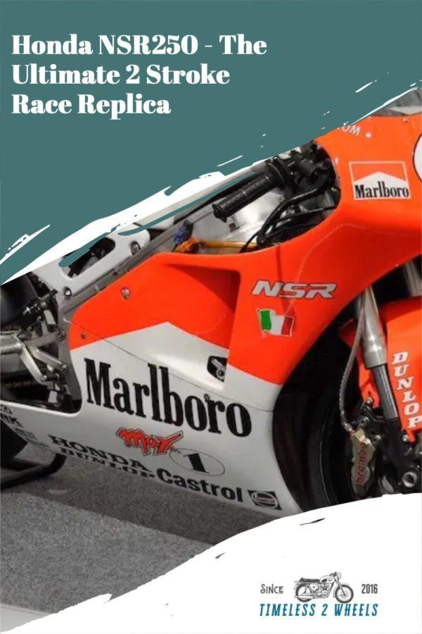 Honda NSR250 - The Ultimate 2 Stroke Classic Motorcycle