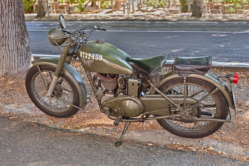 a 1944 G3 Matchless motorcycle