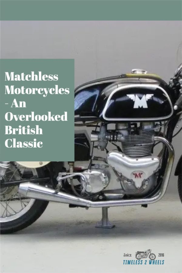 Matchless Motorcycles - An Overlooked British Classic