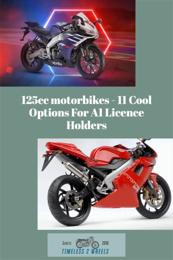 125cc motorbikes - 11 Cool Options For A1 Licence Holders