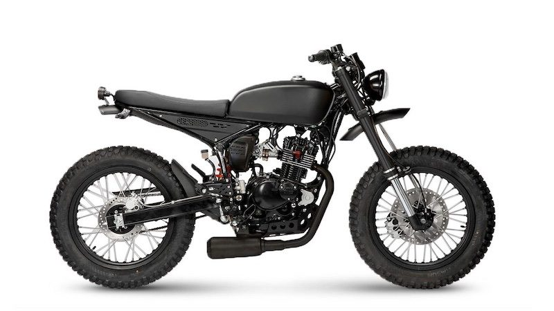 Mutt Motorcycles produce several 125cc motorbikes
