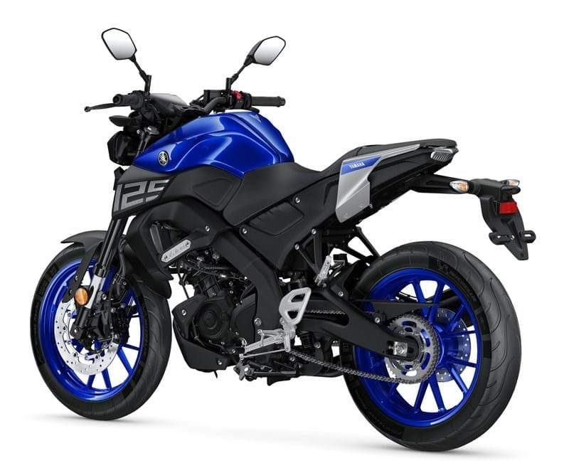Yamaha MT-125 is one of several naked 125cc motorbikes currently available